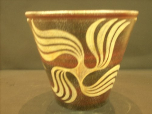 Greek Pottery Shop  KAMARIAN CUP FROM PHAISTOS CRETE KAMARES WARE GREEK POTTERY CUP