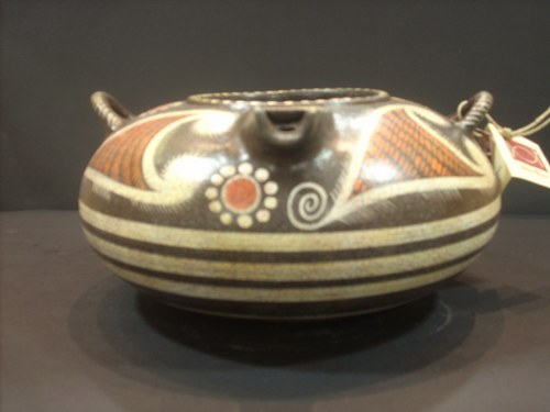 Greek Pottery Shop  CAMARIAN STYLE BRIDGMOUTH SKYFOS KAMARES WARE GREEK POTTERY SKYPHOS